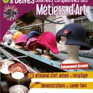 JOURNÉES MÉTIERS D'ART À LA FILATURE DE BELVÈS
